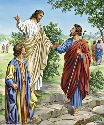 yesus-mengutus-murid-murid-pergi-berdua-dua