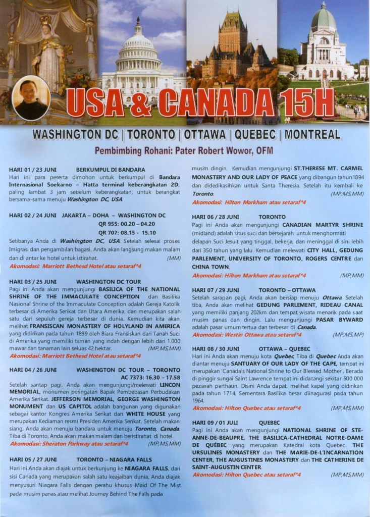 USA-Canada 15D-1