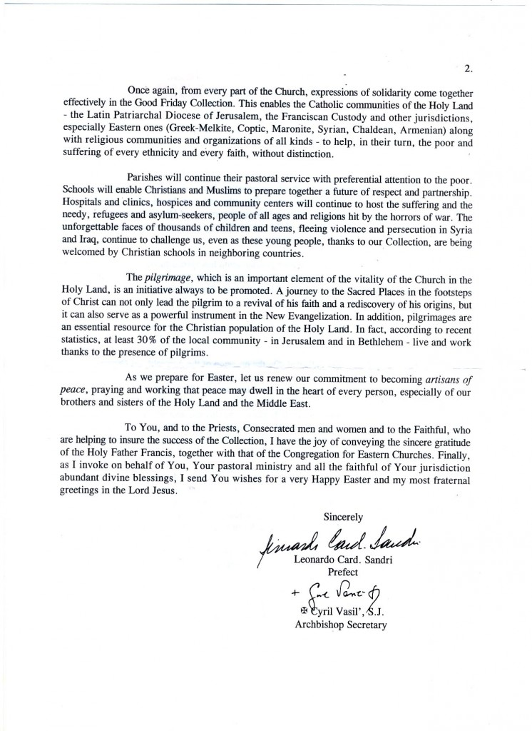 Surat Vatikan-2