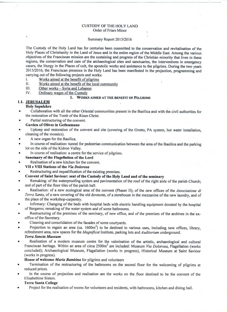 summary report 1