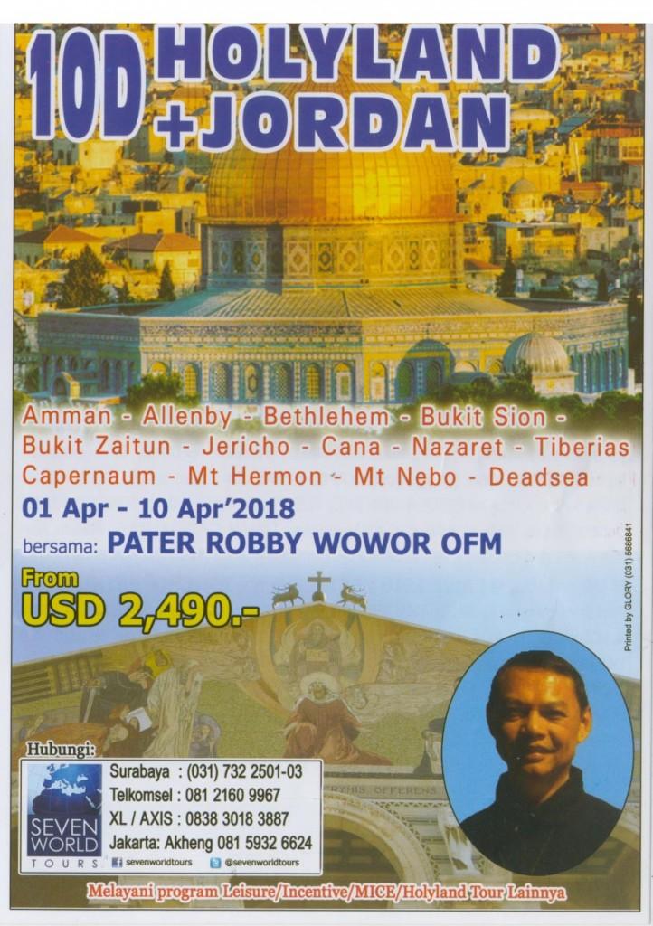 HolyLand Jordan 10D 1April - seven worlds 1