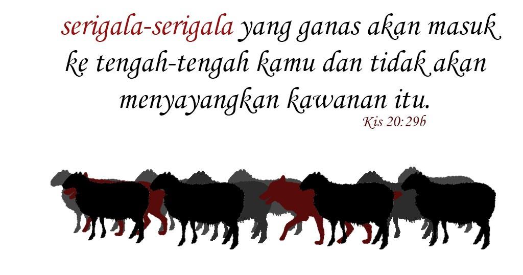 serigala-serigala di antara domba