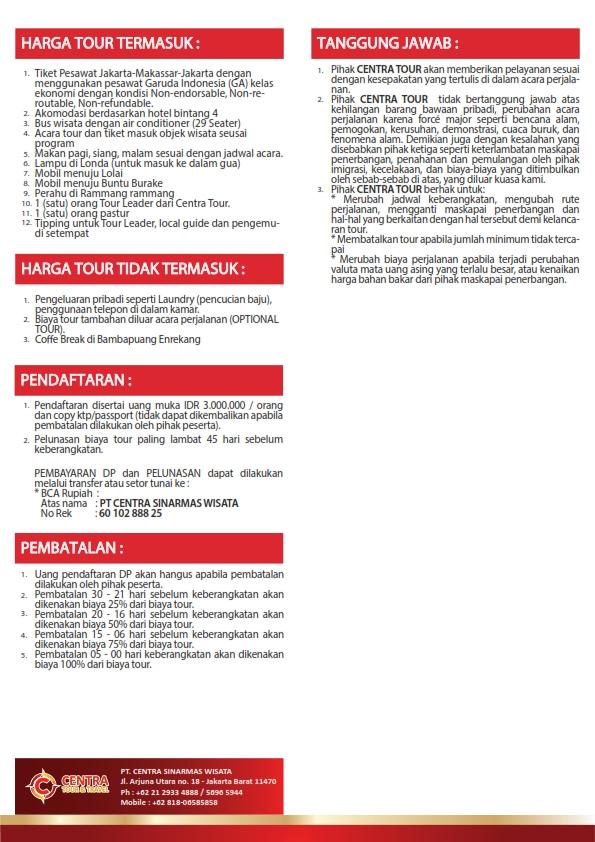 3. EXPLORE TORAJA MAKASSAR 6D5N 25Orang Rev_002