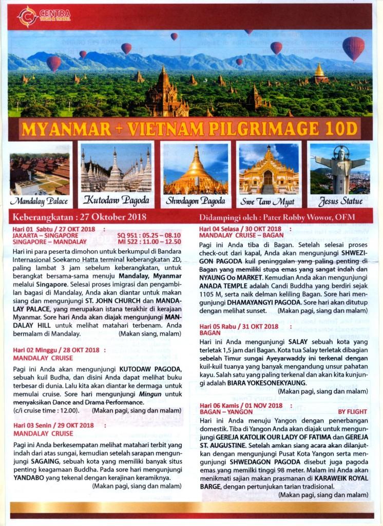 Myanmar -Vietnam 10 D - oktober 2018-1