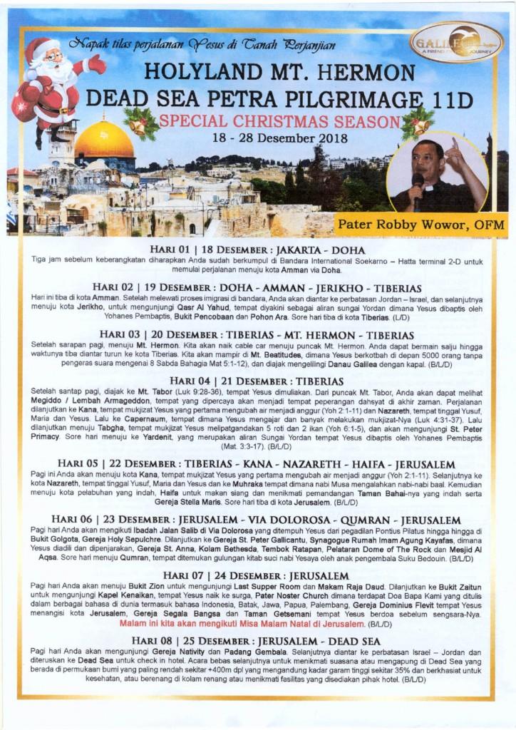 Holy Land -Petra 11D 18-24 Des 2018-1