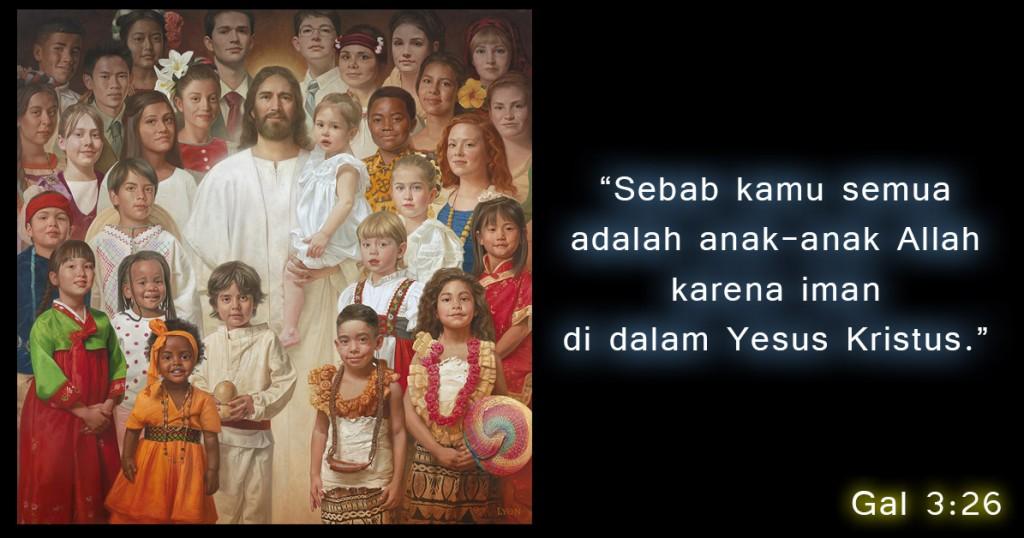 anak Allah karena iman di dalam Yesus