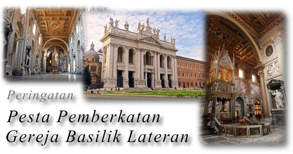 peringatan pesta pemberkatan Gereja Lateran