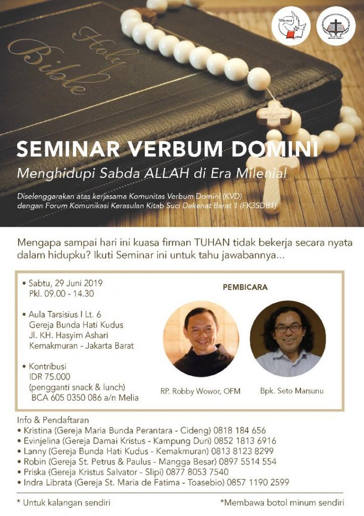 Seminar Verbum Domini-29Juni2019