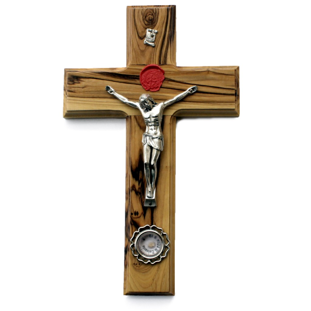 SG 009C-Salib Besar Jerusalem+Stempel Original Kecil